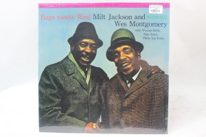 "MILT JACKSON AND WES MONTGOMERY - ""BAGS MEETS WES!"""