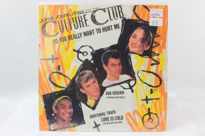 "CULTURE CLUB - ""DO YOU REALLY WANT TO HURT ME"""