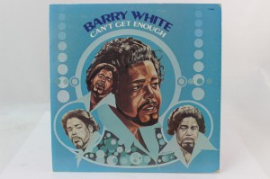 "BARRY WHITE - ""CAN'T GET ENOUGH"""