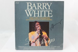 "BARRY WHITE AND LOVE UNLIMITED ALSO FEATURING THE LOVE UNLIMITED ORCHESTRA - ""LOVE SONGS"""