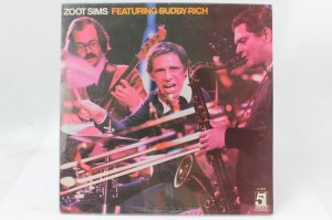 "ZOOT SIMS FEATURING BUDDY RICH - ""FEATURING BUDDY RICH"""
