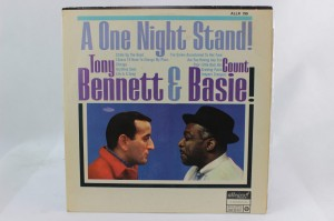 "TONY BENNETT WITH COUNT BASIE ORCHESTRA - ""ONE NIGHT STAND"""