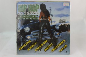 "VARIOUS - ""HIP HOP CLASSICS: PLAYERS FROM THE UNDERGROUND"""