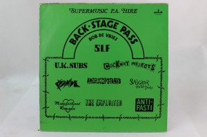 "VARIOUS  - ""BACK STAGE PASS"""