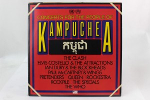 "VARIOUS - ""CONCERTS FOR THE PEOPLE OF KAMPUCHEA"""