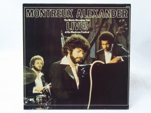 "THE MONTY ALEXANDER TRIO - ""LIVE! AT THE MONTREUX FESTIVAL"""